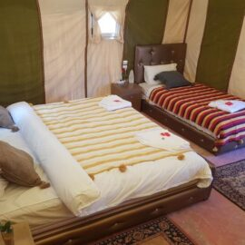 triple tent